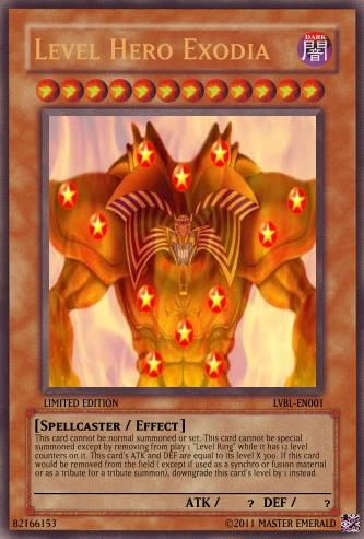 Level Hero Exodia Yu Gi Oh Card Maker Wiki Fandom