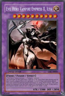 Evil Hero Vampire Empress II, Ilya