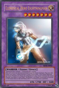 Elemental Hero Lightningman