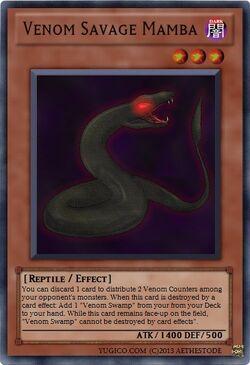Venom Savage Mamba