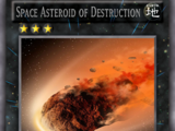 Space Asteroid of Destruction