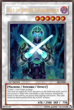 Ally of justice swordmaster