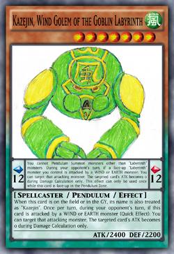 Kazejin, Wind Golem of the Goblin Labyrinth