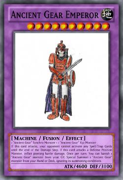 Ancient Gear Emperor