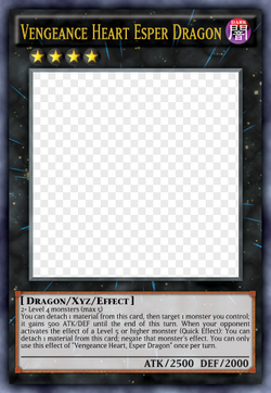 Vengeance Heart Esper Dragon