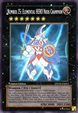 Number 25 Elemental HERO Neos Champion