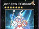 Number 25: Elemental HERO Neos Champion