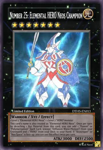 Elemental Hero God Neos Number 25: Elemental H...