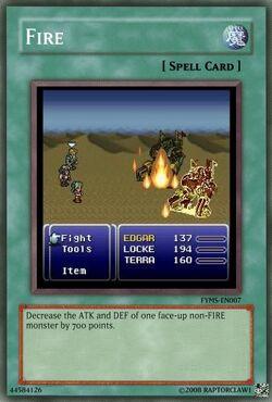 Final Fantasy VI Fire