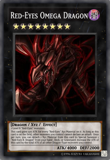 Red-Eyes Omega Dragon V2