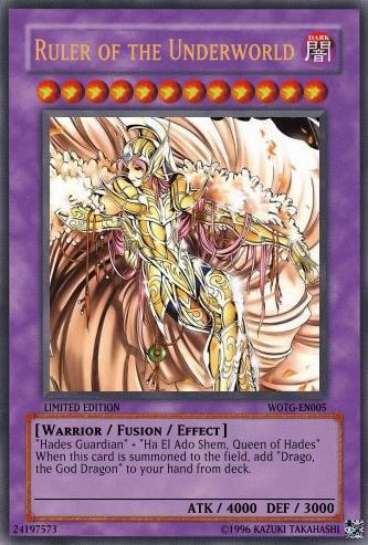 Ruler Of The Underworld Yu Gi Oh Card Maker Wiki