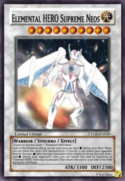 Elemental HERO Supreme Neos