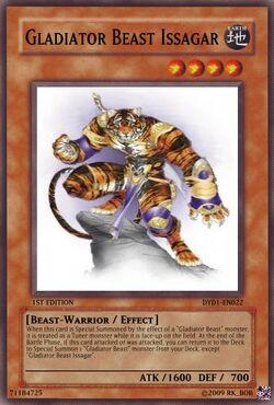 Gladiator Beast Issagar
