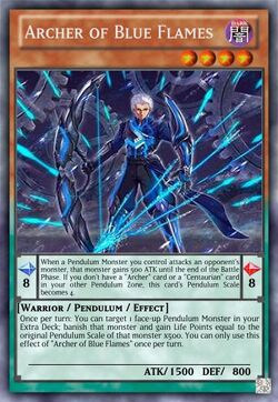 Archer of Blue Flames