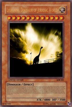 Lightning Dinosaur