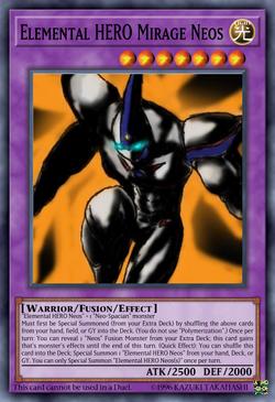 Elemental HERO Mirage Neos