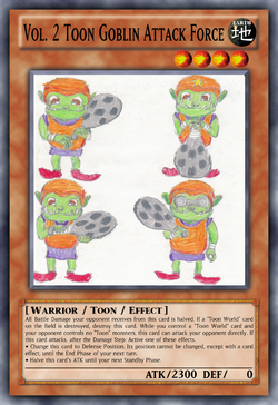 Vol. 2 Toon Goblin Attack Force
