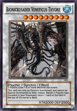 Bionicrusader Veneficus Thyone