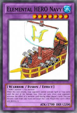 Elemental HERO Navy