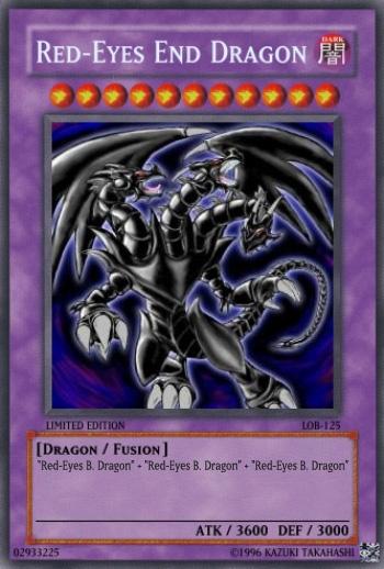 red eyes end dragon yu gi oh card maker wiki fandom powered by wikia