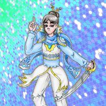 Criators Cousin Sapphire Warrior