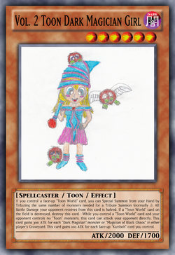 Vol. 2 Toon Dark Magician Girl