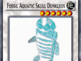 Fossil Aquatic Skull Dunkleos