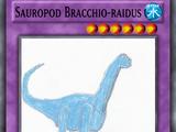 Sauropod Bracchio-raidus