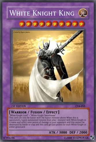 White Knight King Yu Gi Oh Card Maker Wiki Fandom