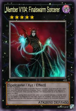 Number V104 - Finalswarm Sorcerer