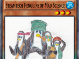Steamtech Penguins of Mad Science