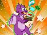 Fantasy-Eyes Messy Dragon