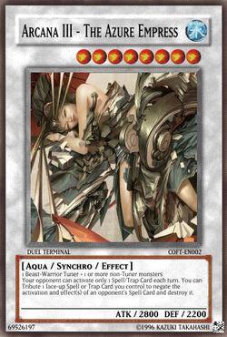 Arcana III - The Azure Empress