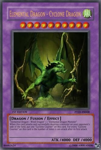 Elemental Dragon - Cyclone Dragon