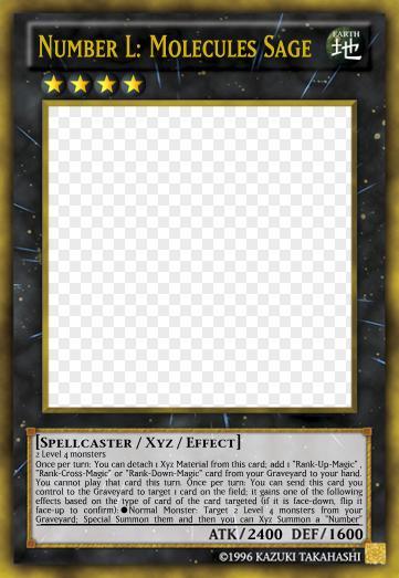 Number L Molecules Sage Yu Gi Oh Card Maker Wiki