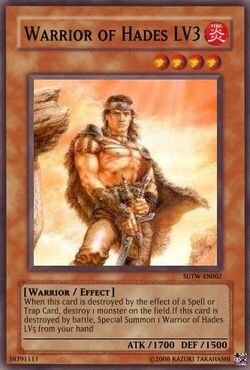 Warrior of Hades LV3