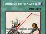 Ambush of the Six Samurai