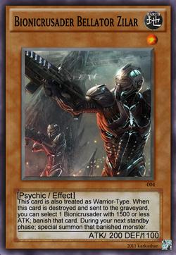 Bionicrusader Bellator Zilar