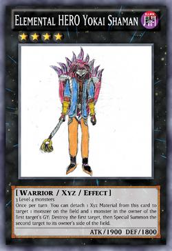 Elemental HERO Yokai Shaman