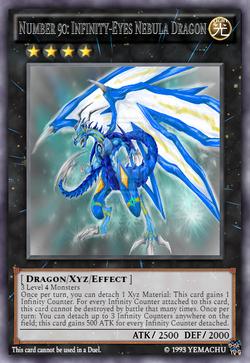 Number 90 Infinity-Eyes Nebula Dragon