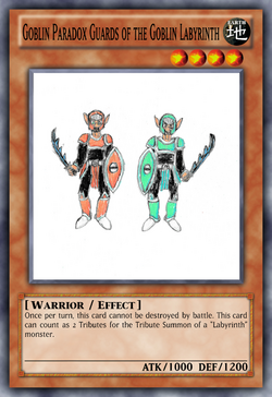 Goblin Paradox Guards of the Goblin Labyrinth
