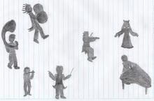 Sketch Dark Ochestra