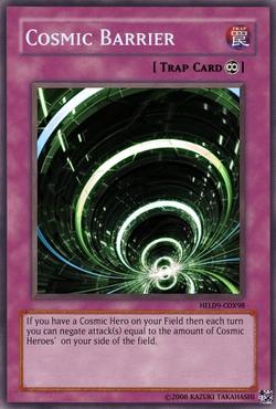 Cosmicbarrier