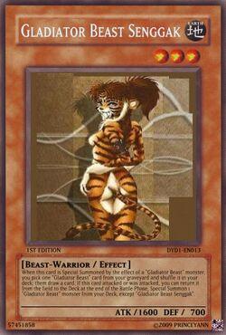 Gladiator Beast Senggak