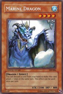 The marine dragon