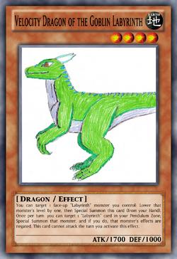Velocity Dragon of the Goblin Labyrinth