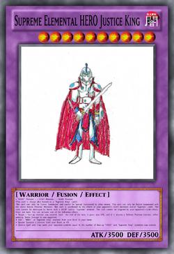 Supreme Elemental HERO Justice King