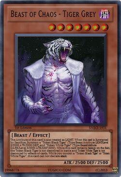 Beast of Chaos - Tiger Grey