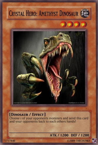 Free Pragtical Yugioh Card Earth Dinosaur Fusion
