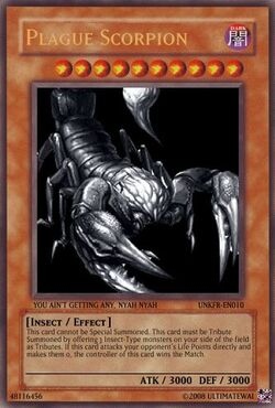 Plague Scorpion